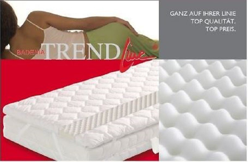 85 badenia senso 14 matratzenauflage 140x200 topper matratzenschoner erst holz. Black Bedroom Furniture Sets. Home Design Ideas