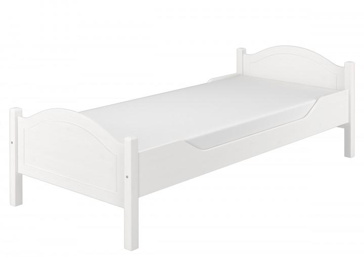 Einzelbett Kiefer weiß