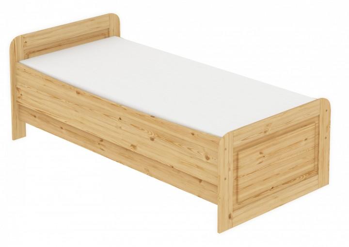 Seniorenbett Extra Hoch 100x200 Einzelbett Rollrost Matratze Bett