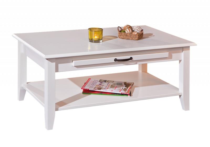 couchtisch cassala 7 1 wei landhausstil massivholz erst holz. Black Bedroom Furniture Sets. Home Design Ideas