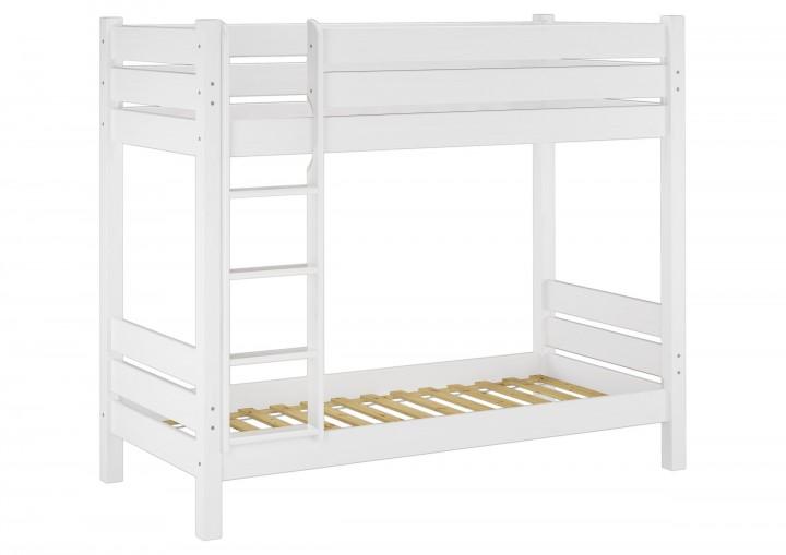 Etagenbetten Für Erwachsene Günstig : 60.16 09 w etagenbett für erwachsene weiß 90x200 cm nischenhöhe 100