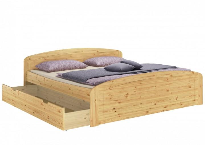 Funktionsbett Doppelbett Bettkasten Rollrost Matratze 180x200