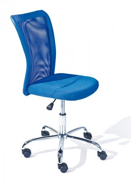Schreibtischstuhl Fur Jugendzimmer Drehstuhl Bonnie Blau 99 99803154