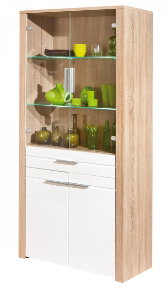 Vitrine Highboard Absoluto 16 Sideboard Sonoma Eiche Nachbildung