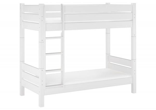 Stabiles Etagenbett Für Erwachsene : Etagenbett für erwachsene weiß stockbett teilbar mit
