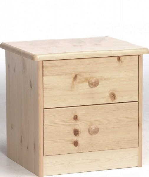 Massivholz-Nachttisch-Schubladen