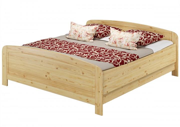 seniorenbett extra hoch 180x200 doppelbett holzbett. Black Bedroom Furniture Sets. Home Design Ideas
