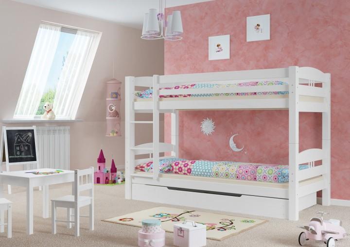 Etagenbett Kinder Vollholz : Flexa betten etagenbett kinderbett plattformbett und