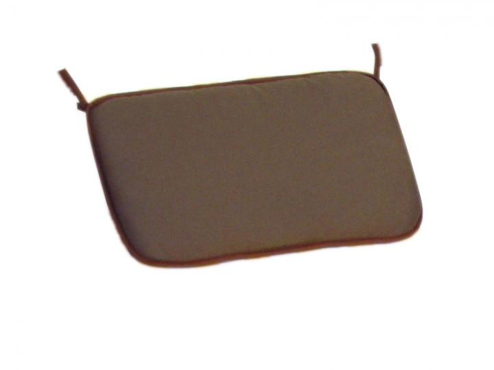 Kissen Farbe Braun als Zubehör für Gartenliege Strandstuhl Gartenmöbel 10-300-T