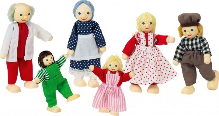 Puppen Goki Zubehör für Puppenstuben Holzpuppen Biegepuppen 99-D18