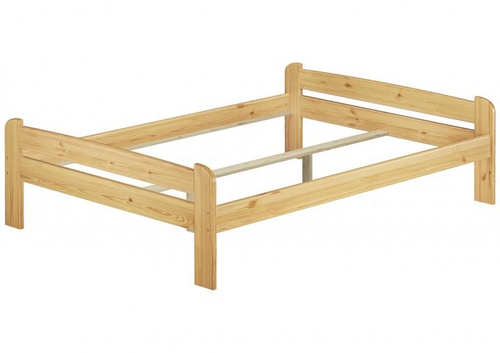 doppel bettgestell 140x200 massivholz kieferbett natur futonbett ohne rollrost or. Black Bedroom Furniture Sets. Home Design Ideas