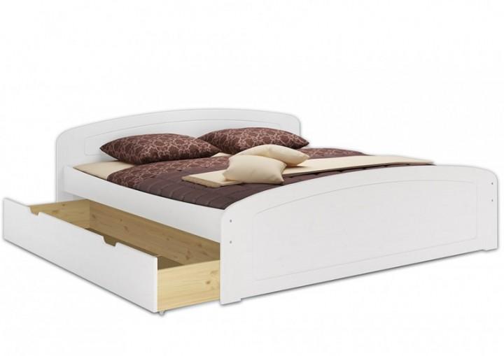 Doppelbett Ehebett 180x200 Bettkasten Rollrost Matratze Seniorenbett