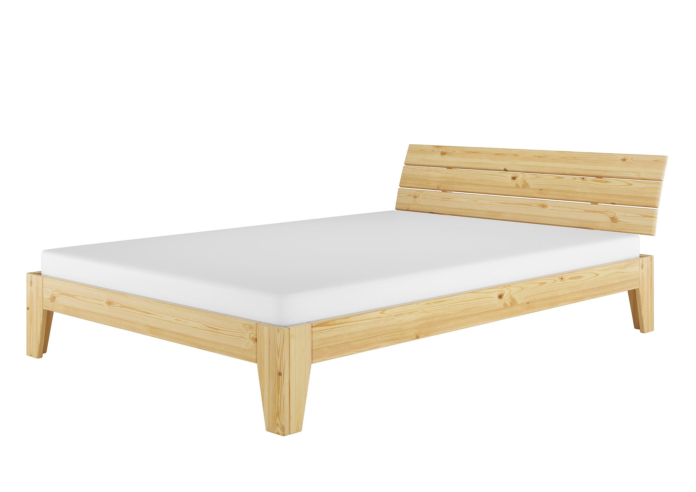 Bett 140x200 Kiefer Massiv Doppelbett Doppelbett Mit Bettkasten Zuhause