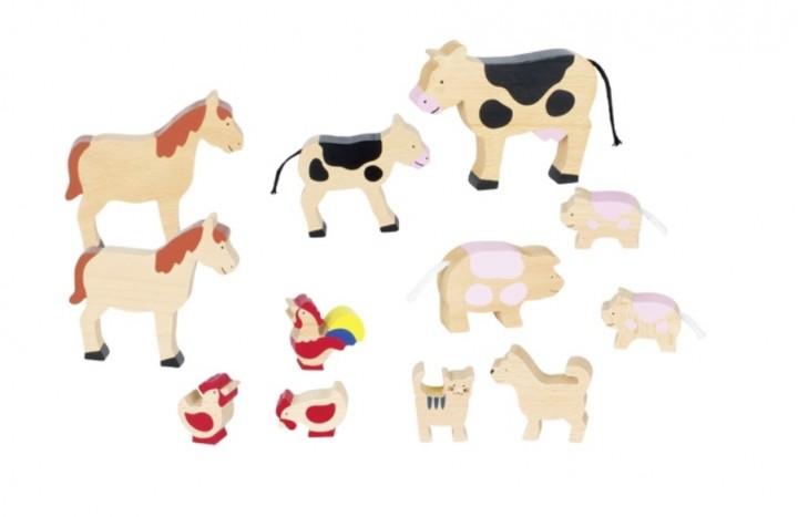 Bauernhoftiere Bauernhof Tiere Kleinkindspielzeug