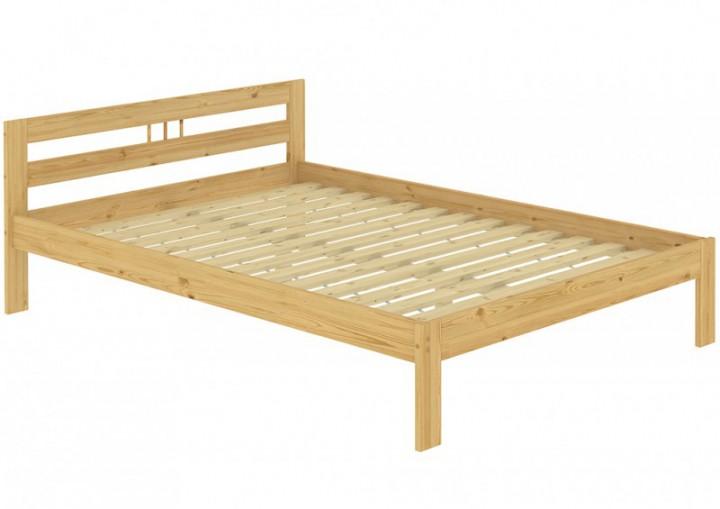 massivholzbett kiefer natur 140x200 doppelbett futonbett federholzrahmen matratze fsn m. Black Bedroom Furniture Sets. Home Design Ideas