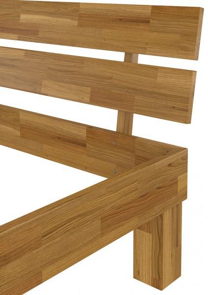 futonbett franz sisches bett 140x200 doppelbett eiche bettgestell massiv ohne rollrost. Black Bedroom Furniture Sets. Home Design Ideas