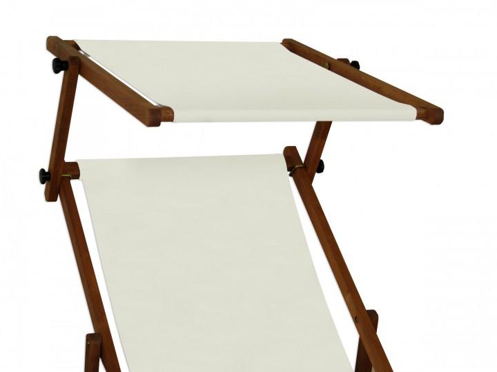 liegestuhl wei fu teil sonnendach kissen tisch gartenliege holz sonnenliege 10 303 f s t kh. Black Bedroom Furniture Sets. Home Design Ideas