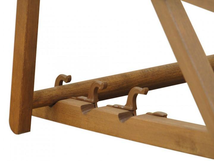 liegestuhl wei gartenliege tisch deckchair holz sonnenliege gartenstuhl massivholzm bel 10 303. Black Bedroom Furniture Sets. Home Design Ideas