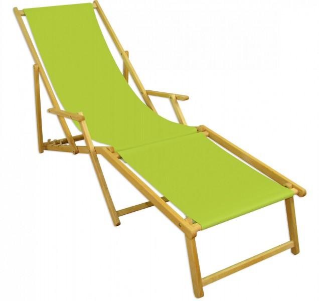 gartenliege pistazie strandliege relaxliege fu ablage sonnendach buche klappstuhl 10 306 n f s. Black Bedroom Furniture Sets. Home Design Ideas