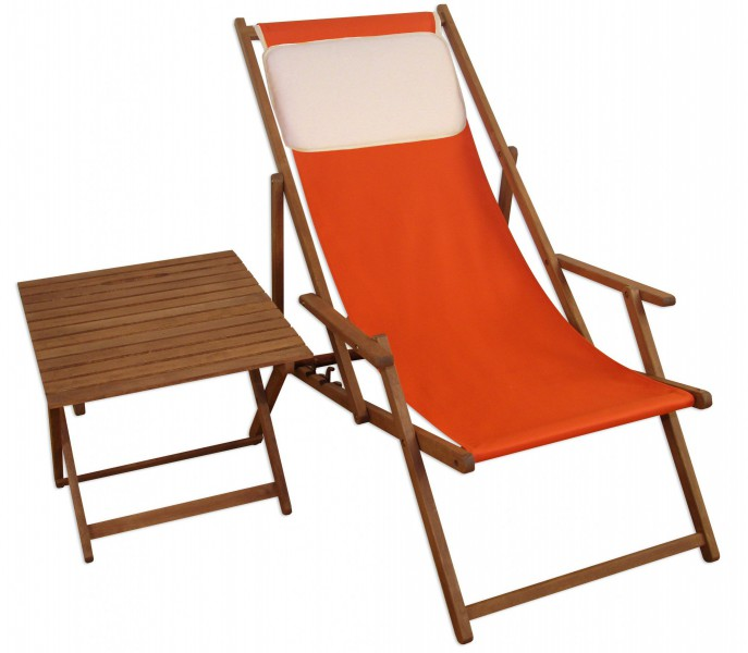 gartenliege liegestuhl terracotta tisch kissen strandstuhl, Esszimmer dekoo
