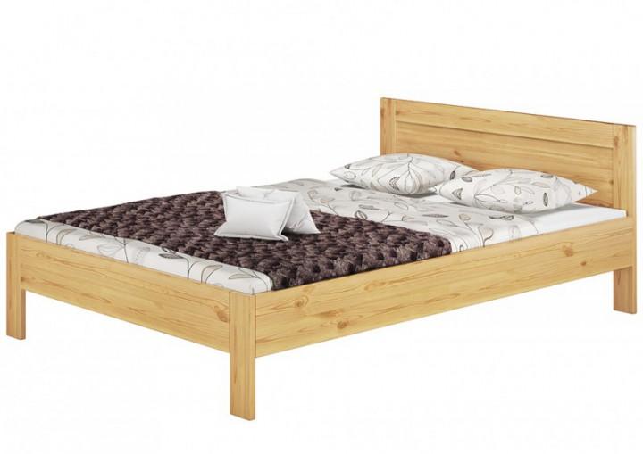 franz sisches bett 140x200 doppelbett futonbett kiefer massiv rollrost matratze m. Black Bedroom Furniture Sets. Home Design Ideas