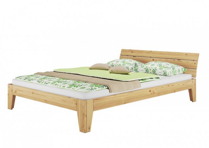futonbett doppelbett 180x200 massivholz bettgestell kiefer natur ohne rollrost or. Black Bedroom Furniture Sets. Home Design Ideas