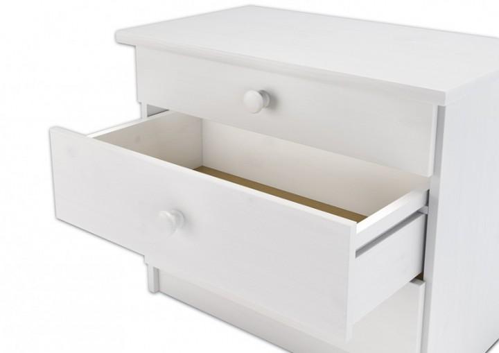w nachtkonsole wei f r erh hte seniorenbetten. Black Bedroom Furniture Sets. Home Design Ideas