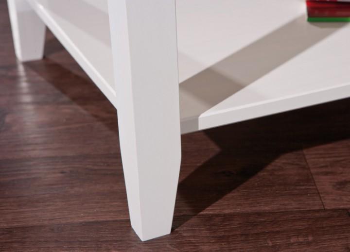 couchtisch cassala 7 1 wei landhausstil massivholz 99. Black Bedroom Furniture Sets. Home Design Ideas