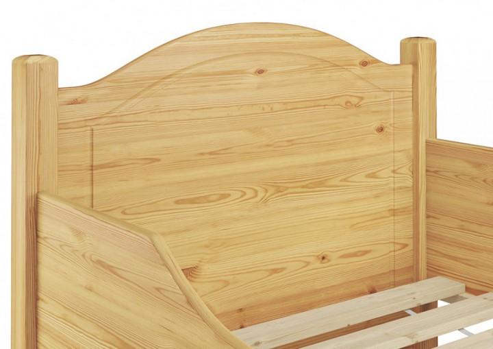 seniorenbett hoch futonbett 90x200 einzelbett federholzrahmen matratze g stebett mt fs. Black Bedroom Furniture Sets. Home Design Ideas