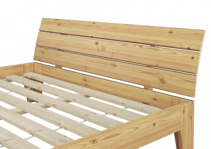 futonbett kiefer massiv doppelbett ehebett jugendbett 140x220 berl nge mit rollrost. Black Bedroom Furniture Sets. Home Design Ideas