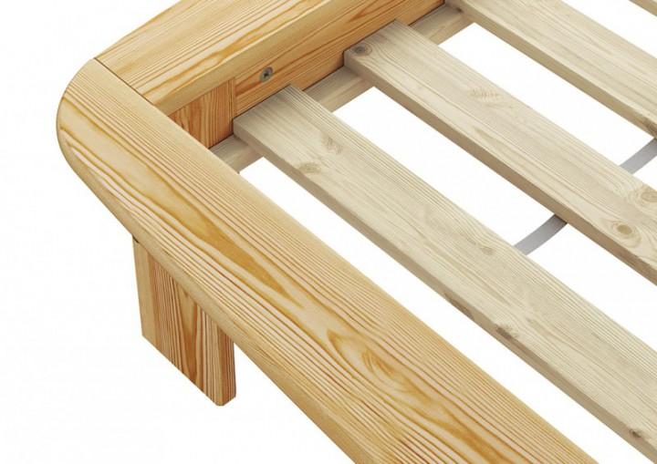 franz sisches bett doppelbett futonbett kiefer massiv. Black Bedroom Furniture Sets. Home Design Ideas