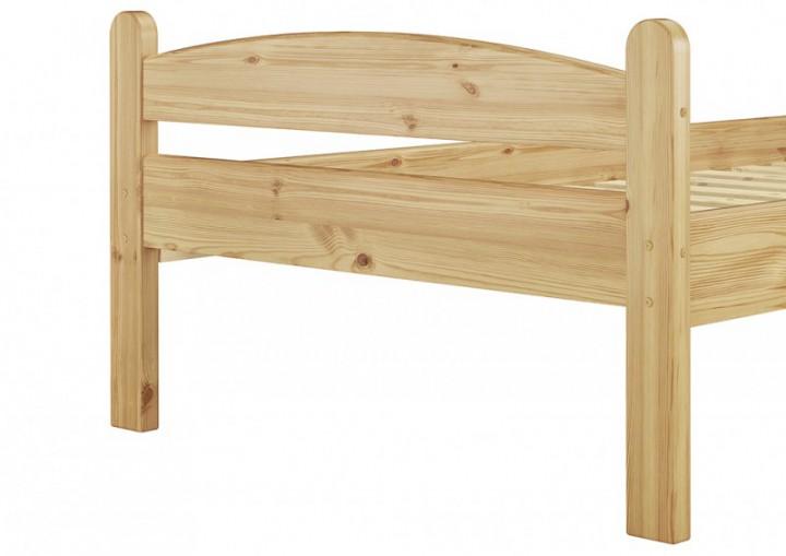 massivholzbett einzelbett 90x200 jugendbett futonbett rollrost matratze kiefer natur m. Black Bedroom Furniture Sets. Home Design Ideas