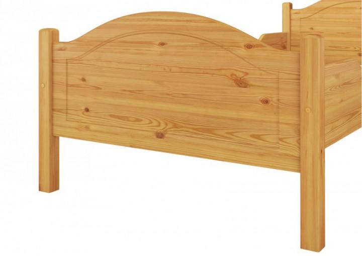 Massivholz Bett Kiefer Einzelbett Natur 100x200