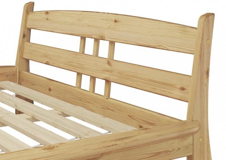 futonbett 140x200 holzbett kiefer massivholzbetten doppelbett jugendbett rollrost. Black Bedroom Furniture Sets. Home Design Ideas
