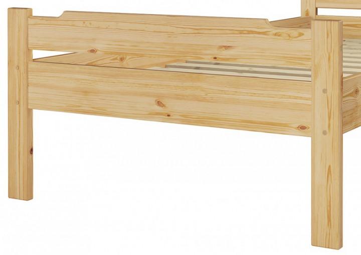 einzelbett jugendbett kieferbett natur 80x200. Black Bedroom Furniture Sets. Home Design Ideas