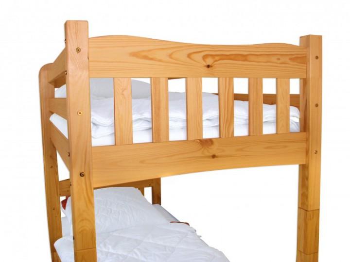 ni70 etagenbett kiefer massivholz 90x200 cm mit 2. Black Bedroom Furniture Sets. Home Design Ideas