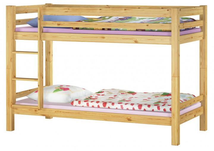 etagenbett massivholz kiefer 90x200 inkl matratze bettzeug kinderbett m kids a. Black Bedroom Furniture Sets. Home Design Ideas