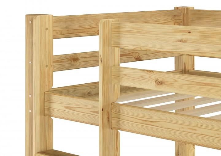 kinderzimmer etagenbett massiv kiefer 90x200 stockbett. Black Bedroom Furniture Sets. Home Design Ideas