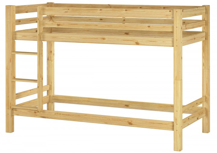 kinderzimmer etagenbett massiv kiefer 90x200 stockbett hochbett kinderbett or. Black Bedroom Furniture Sets. Home Design Ideas