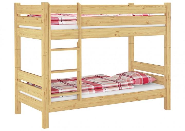t80 etagenbett f r erwachsene 90x200 cm teilbare nische 80 cm mit 2 rollroste. Black Bedroom Furniture Sets. Home Design Ideas