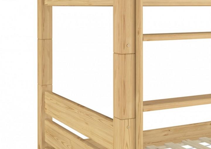 erwachsenen etagenbett 80x190 hochbett kiefer teilbar rollrost matratzen t100 m. Black Bedroom Furniture Sets. Home Design Ideas
