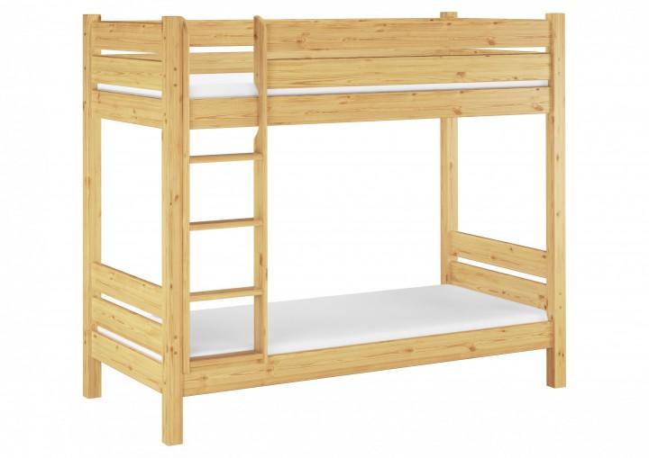 etagenbett f r erwachsene 90x200 kiefer stockbett nische. Black Bedroom Furniture Sets. Home Design Ideas