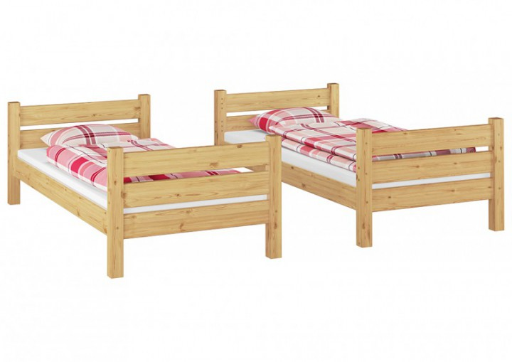 stockbett f r erwachsene 90x200 etagenbett teilbar 2 rollroste doppelbettkasten t100 s2. Black Bedroom Furniture Sets. Home Design Ideas