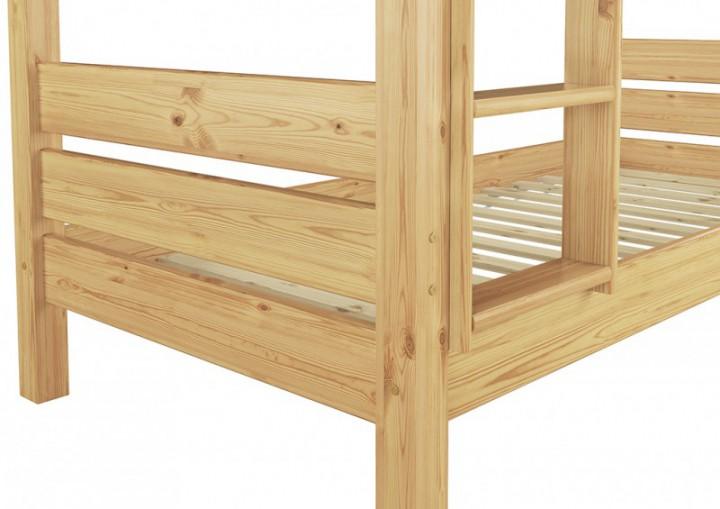 etagenbett f r erwachsene kiefer 90x200 hochbett teilbar rollrost bettk sten t80 s2. Black Bedroom Furniture Sets. Home Design Ideas