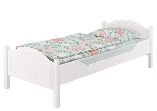 einzelbett kiefer wei 90x200 futonbett jugenbett singlebett ohne rollrost w or. Black Bedroom Furniture Sets. Home Design Ideas