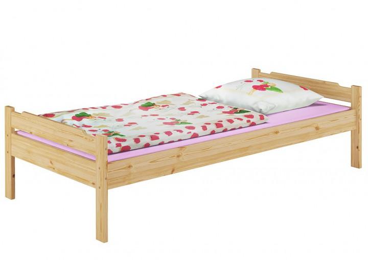 kinderbett kiefer natur 90x200 massivholz matratze rollrost bettzeug bettw sche m kids. Black Bedroom Furniture Sets. Home Design Ideas