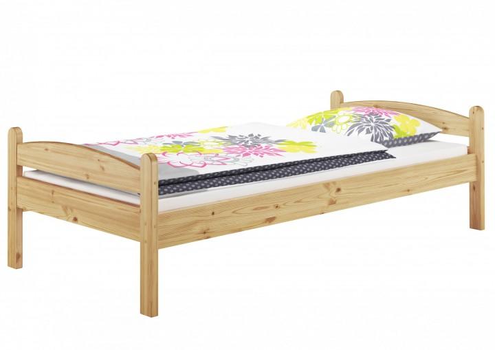 massivholzbett kiefer natur einzelbett futonbett 100x200 jugendbett ohne rollrost or. Black Bedroom Furniture Sets. Home Design Ideas