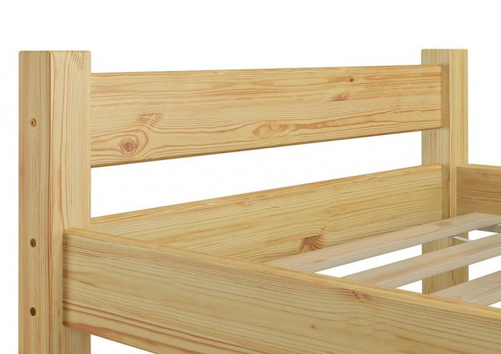 futonbett jugendbett 90x200 einzelbett kiefer natur massivholzbett rollrost matratze m. Black Bedroom Furniture Sets. Home Design Ideas