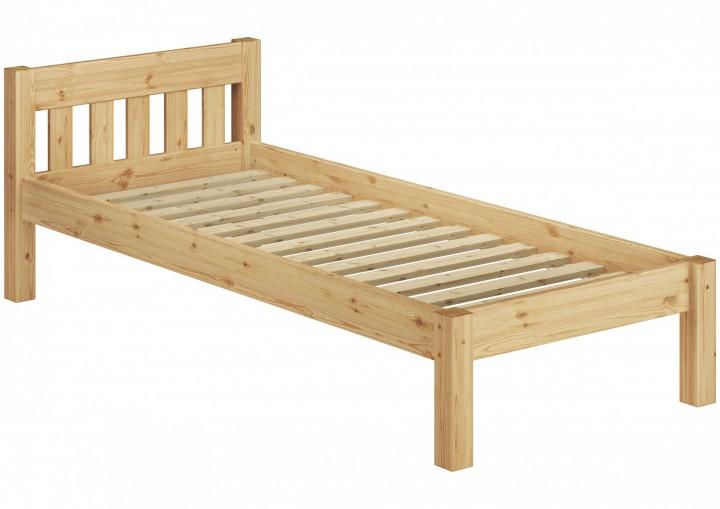 massivholzbett kiefer natur 100x200 einzelbett futonbett. Black Bedroom Furniture Sets. Home Design Ideas