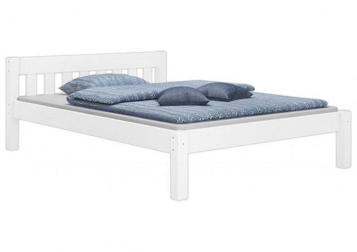 doppelbett futonbett 140x200 massivholz kieferbett wei. Black Bedroom Furniture Sets. Home Design Ideas
